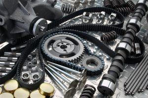 Elgin engine products assortment on diamond plate