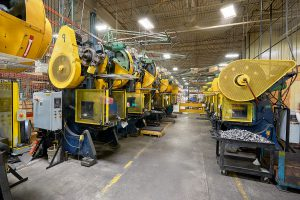 Elgin machines in warehouse