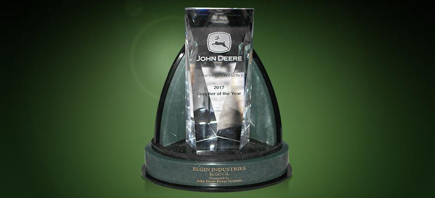 Elgin John Deere Supply of the Year award