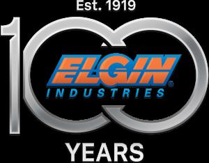 Elgin Industries 100 Years logo