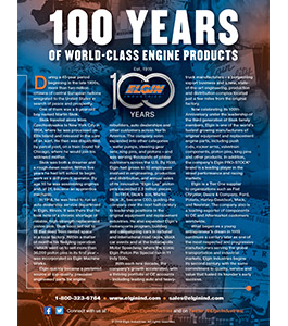 100 Years of World-Class Engine Products