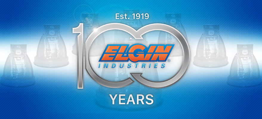 Elgin Industries 100th John Deere 'PARTNER-LEVEL SUPPLIER'