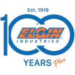 Elgin Industries 100 Years Plus logo